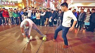 getlinkyoutube.com-Séan Garnier ● Crazy Street Football Skills, Panna's & Freestyle