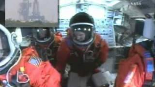 getlinkyoutube.com-Patrick Baudry : Live astronaut comments inside the Space Shuttle