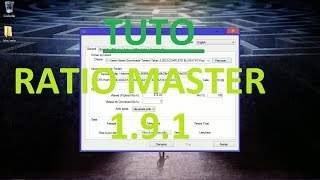 getlinkyoutube.com-Tuto Ratio Master 1.9.1 [FR]