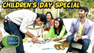 getlinkyoutube.com-EXCLUSIVE - Swara & Sanskar Remember their Childhood Days - Children's Day Special