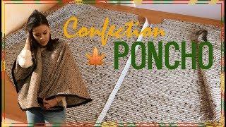 getlinkyoutube.com-DIY Couture - Réaliser un Poncho | Cecile