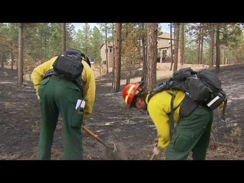 Private fire crews hired to protect homes