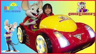 getlinkyoutube.com-Chuck E Cheese Family Fun Indoor Games and Activities for Kids Children Play Area Ryan ToysReview