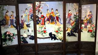 getlinkyoutube.com-Traditional Chinese Silk Embroidery shop - Shanghai, China