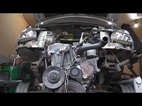 УазТех: Установка om603 с МКПП Спринтер и РК Nissan на Соболь 4х4, ЧАСТЬ 2