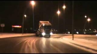 getlinkyoutube.com-すげーよ!ドリフト。ダンプカーのスーパープレイ。[The Dump Truck Drift]