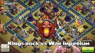 getlinkyoutube.com-Clash of clans - Kings rock vs War imperium (clan wars)