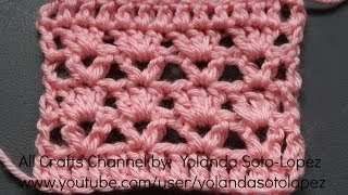 getlinkyoutube.com-Learn to crochet another blanket design - (English)