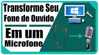 getlinkyoutube.com-Como transformar fone de ouvido em microfone e gravar vídeos para youtube