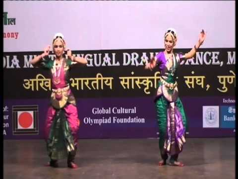 Souravi Patil and Anushka Sarnaik performing Devi Stuti (Bharat Natyam Dance)