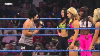 getlinkyoutube.com-WWE NXT 28/9/2010 - Vicky Gurrero & NXT Diva Rookie Kaitlyn Segment (Face to Face)