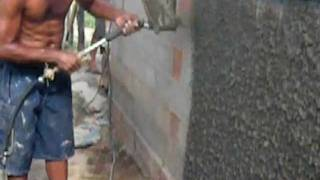 getlinkyoutube.com-mortar sprayer / plaster sprayer