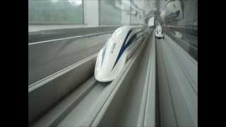 getlinkyoutube.com-リニアモーターカー有人試乗時速590kmで走行に中国が,かじりついた!!