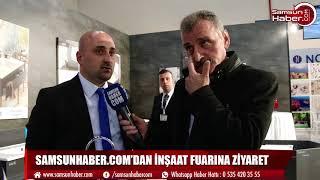SAMSUNHABER COM'DAN İNŞAAT FUARINA ZİYARET
