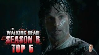 getlinkyoutube.com-The Walking Dead Season 6 Episode 9 No Way Out - Top 5 Best Moments!