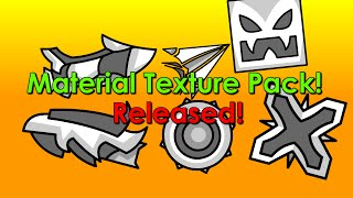[Geometry Dash] Material Texture Pack Released!