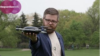 getlinkyoutube.com-Drones: Testing the 'selfie drone' in Central Park | Guardian Tech