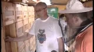 getlinkyoutube.com-Pčelarstvo porodice Hegediš, vrcanje meda