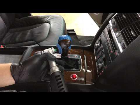 Полировка ручки КПП Audi Q7