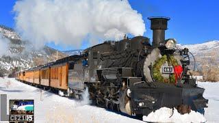 getlinkyoutube.com-Steam Trains and Snow! Durango and Silverton