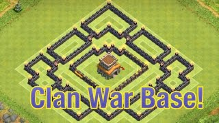 getlinkyoutube.com-Clash of Clans - NEW TH8 Clan War Base With Air Sweeper