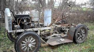 getlinkyoutube.com-1927 Chevy Powered New Idea Transplanter Running!