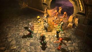 Quest'n Goblins  Trailer - 3D browser MMORPG