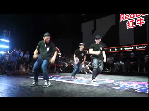 JAPAN (BBOY ISSEI 2GOO SHUVAN) VS CHINA (NO NAME LAZY GEORGE) KOD 2014 FINAL BATTLE