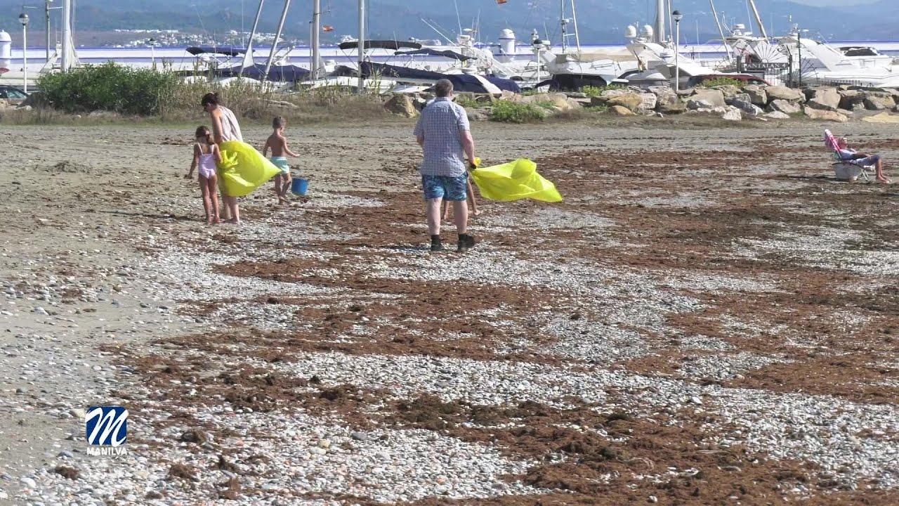 200 kilos de residuos se recogieron el pasado sábado en nuestras playas
