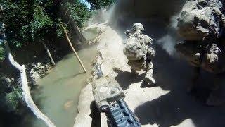 getlinkyoutube.com-Minesweeper Helmet Cam Firefight With Taliban
