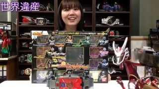 getlinkyoutube.com-変身ベルトーク8・仮面ライダー龍騎 13ライダー Vバックル