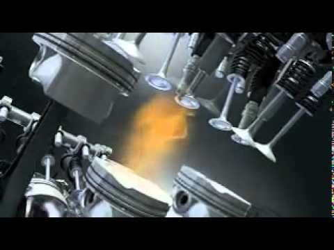 BMW Assembly Twin Turbo V8 engine (3D Animation)
