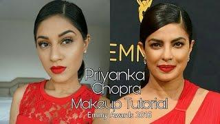 Priyanka Chopra Emmy Awards 2016 Makeup Tutorial