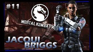 getlinkyoutube.com-Mortal Kombat X modo HISTORIA #11 - Jacqui Briggs