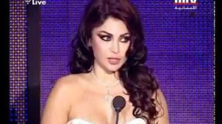 getlinkyoutube.com-Haifa Wehbe in murex d'or 2011