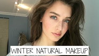 getlinkyoutube.com-Winter Everyday Natural Makeup Tutorial 2017 | Jessica Clements