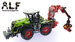 getlinkyoutube.com-Lego Technic 42054 Claas Xerion 5000 Trac VC - Lego Speed Build Review