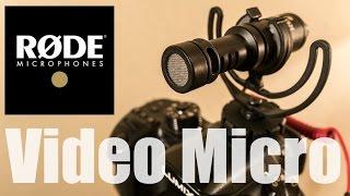 RODE VideoMicro 〜最初に買うべきデジタル一眼動画の外部マイク!