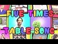 Five Times Table Song We Cant Stop by Miley Cyrus Using iPads Only