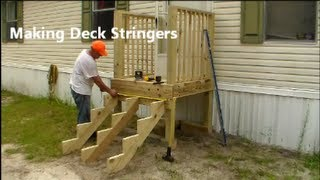 getlinkyoutube.com-Making Stair Stringers - Learn how to build your own.