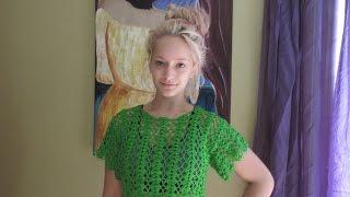 getlinkyoutube.com-Crochet Blusa De Verano Lima - con Ruby  Stedman