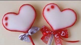 getlinkyoutube.com-Manualidades para San Valentin - Corazón de goma espuma - Manualidades Para Todos