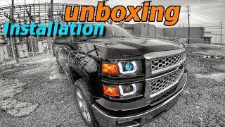 getlinkyoutube.com-Anzo Headlights unboxing/installation NEW