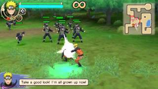 getlinkyoutube.com-(PSP) Naruto Ultimate Ninja Impact gameplay