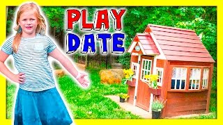 getlinkyoutube.com-ASSISTANTS Backyard A Play Date TheEngineeringFamily Funny Kids Outdoor Video