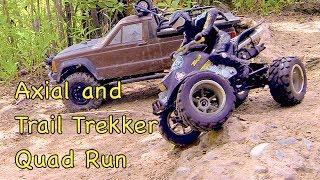 getlinkyoutube.com-RC CWR Axial and Trail Trekker Quad Run