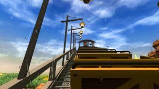 getlinkyoutube.com-Big Thunder Mountain RCT3 [Full Ride]