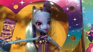 getlinkyoutube.com-Trixie Lulamoon Equestria Girls My Little Pony Rainbow Rocks Doll Review and Unboxing