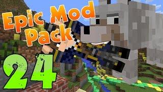 getlinkyoutube.com-DOG MEAT!! | Minecraft Epic Modpack | Part 24