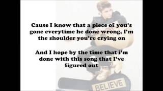Justin Bieber - Fall Acoustic - (Lyrics On Screen) HD
